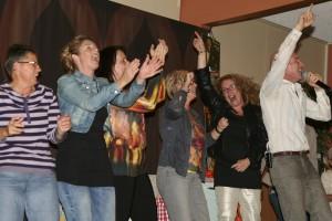 vrijwilligersfeest in Gramsbergen met Zingen bij de Afwas
