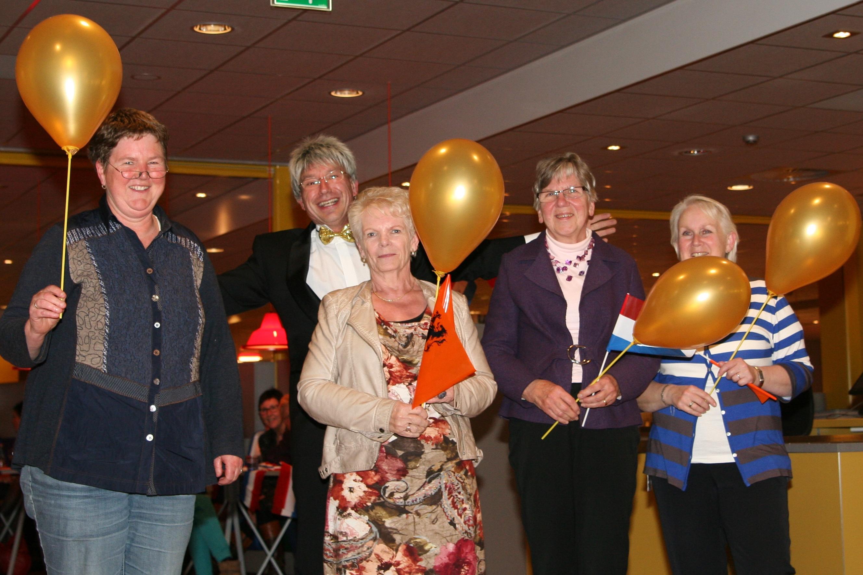 Entertainment op vrijwilligersfeest Martni Ziekenhuis Groningen