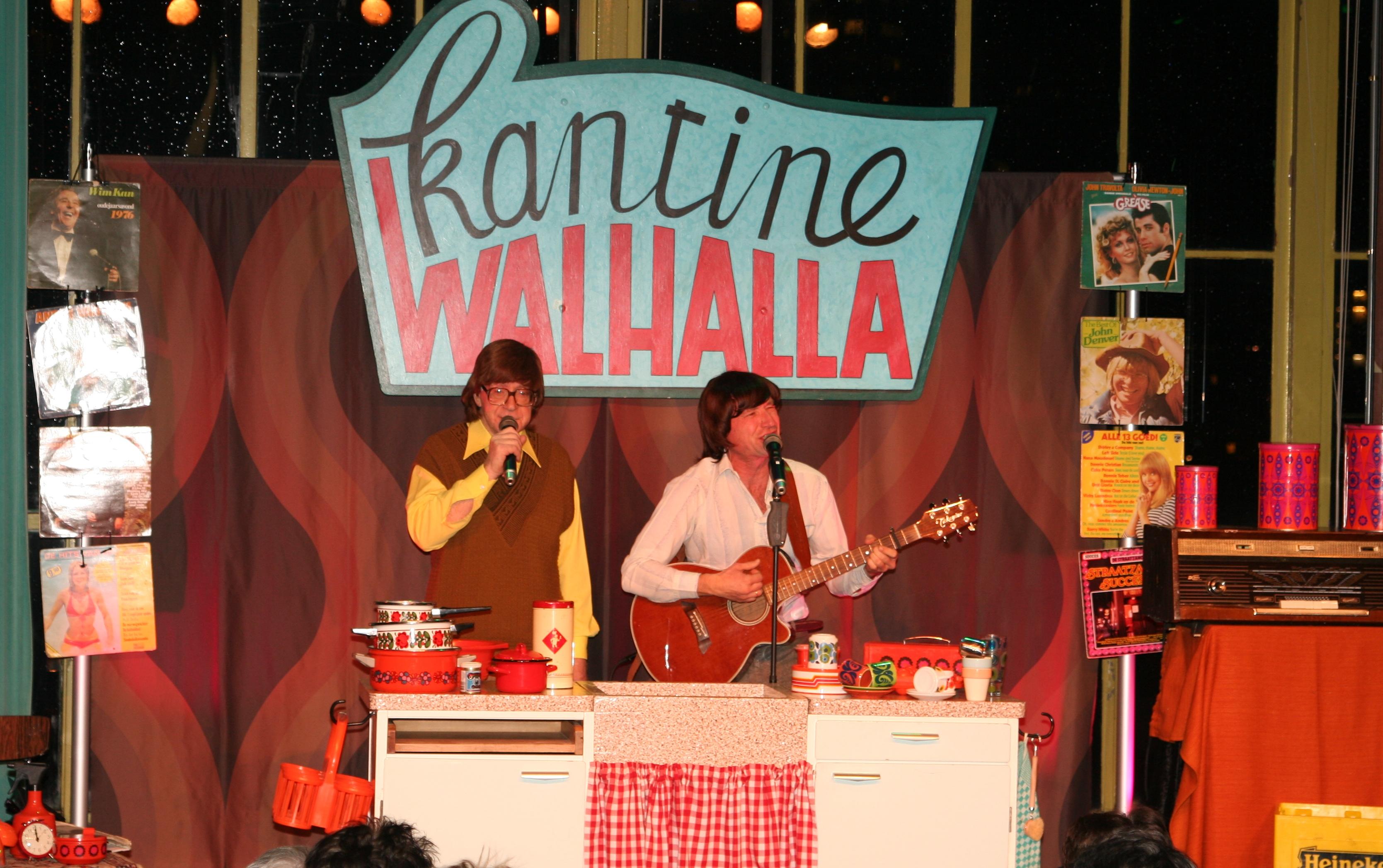 Kantine Walhalla Mark & Tjark vrijwilligersfeest cabaret