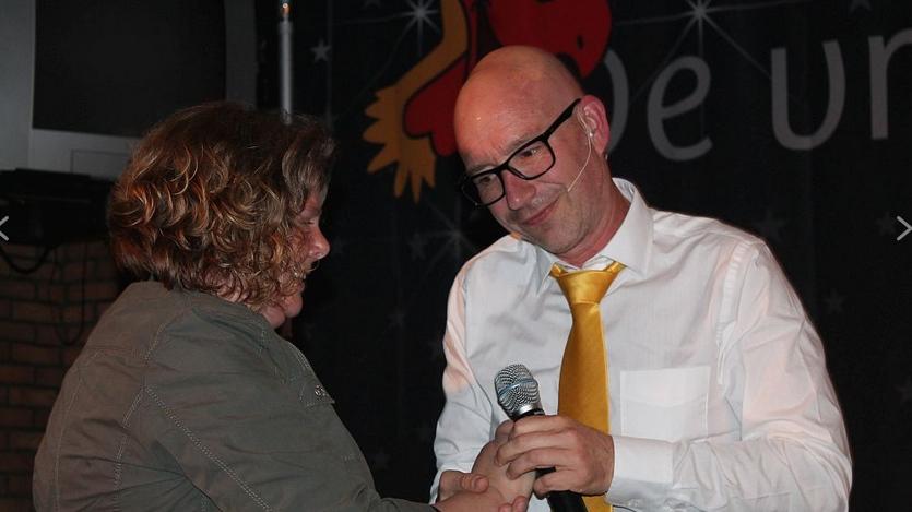 Vrolijke V.I.P. Show - cabaret voor vrijwilligers